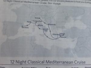 Itinerary!