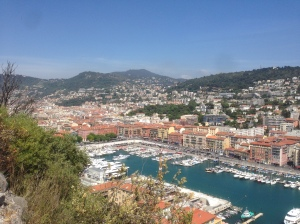 The little valley between Nice and Villefranche