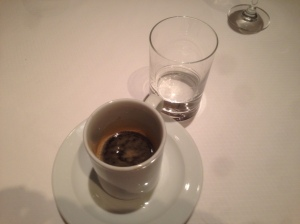The saddest Sambuca & espresso