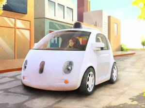 Crappy-looking driverless car